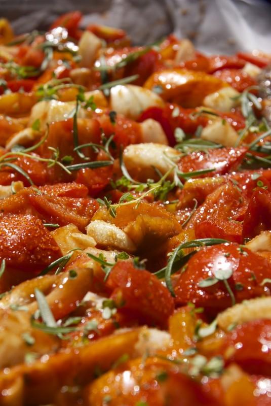 רוטב עגבניות אפוי