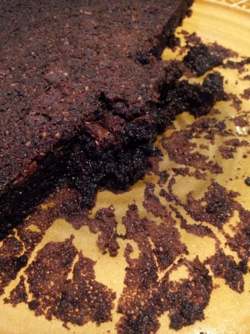 עוגת שוקולד שמן זית שלמה