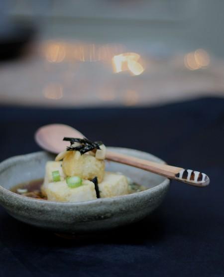 4 agadashi tofu