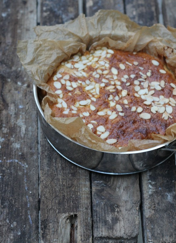 עוגת משמשים ולוונדר